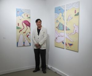 NSG. Guan Wei exhibition. Opening 2