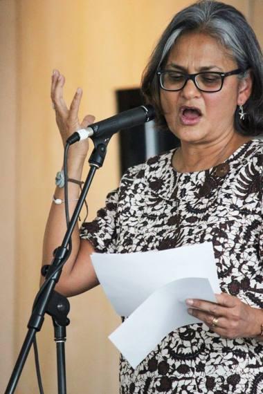 Anita reading